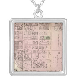 Allegheny ward 5 silver plated necklace