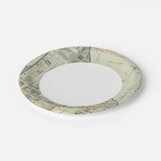 Allegheny ward 6 paper plate