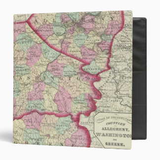 Allegheny, Washington, Greene counties Binder
