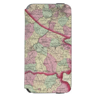 Allegheny, Washington, Greene counties iPhone 6/6s Wallet Case