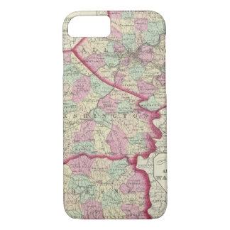 Allegheny, Washington, Greene counties iPhone 8/7 Case