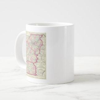 Allegheny, Washington, Greene counties Large Coffee Mug