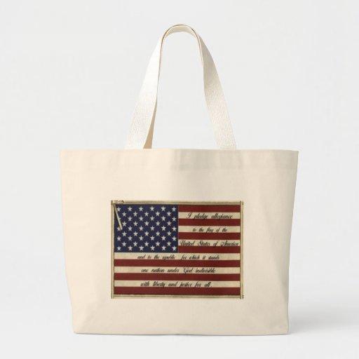 Allegiance Large Tote Bag