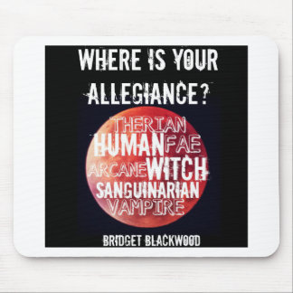 Allegiance Mouse Pad