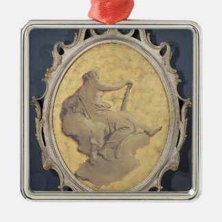 Allegorical female figure by Giovanni Tiepolo Christmas Ornaments