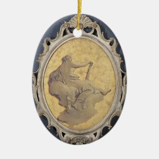 Allegorical female figure by Giovanni Tiepolo Ornament