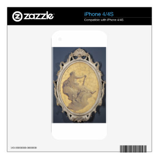 Allegorical female figure with a club by Giovanni Decal For The iPhone 4