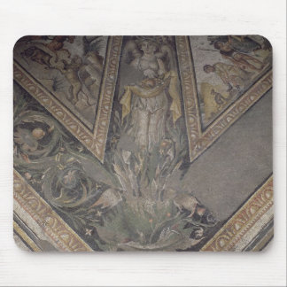 Allegorical figure of Autumn, detail of a mosaic p Mouse Pad