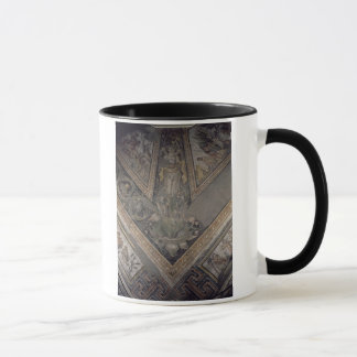 Allegorical figure of Autumn, detail of a mosaic p Mug