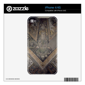 Allegorical figure of Autumn, detail of a mosaic p Skins For The iPhone 4S