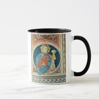 Allegorical figure of Temperance, one of several d Mug