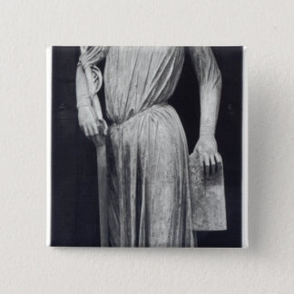 Allegorical figure of The Synagogue Button