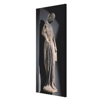 Allegorical figure of The Synagogue, from the sout Canvas Print