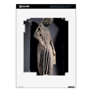 Allegorical figure of The Synagogue, from the sout iPad 3 Skin