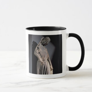 Allegorical figure of The Synagogue, from the sout Mug
