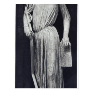 Allegorical figure of The Synagogue Postcard