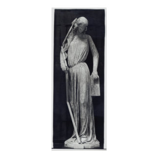 Allegorical figure of The Synagogue Poster