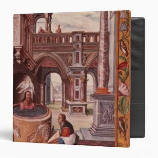Allegorical illustration of an Alchemist at Binder