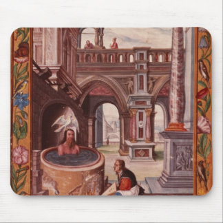 Allegorical illustration of an Alchemist at Mouse Pad