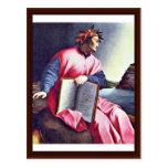 Allegorical Portrait Of Dante Postcards