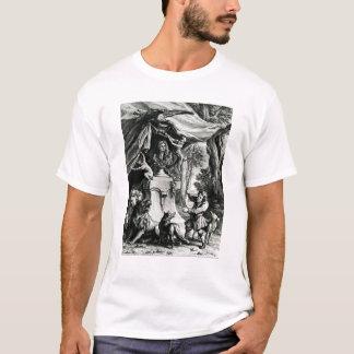 Allegorical portrait of Jean de La Fontaine T-Shirt