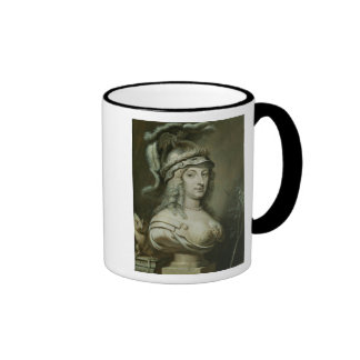 Allegorical Portrait of Queen Christina of Ringer Coffee Mug