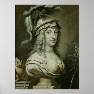 Allegorical Portrait of Queen Christina of Poster