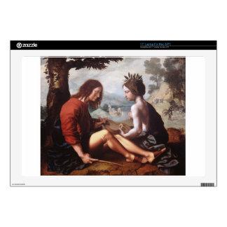 Allegorical Scene by Jan van Hemessen Laptop Decals