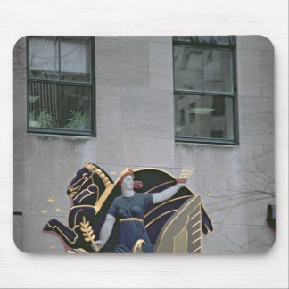 Allegorical scene mouse pad