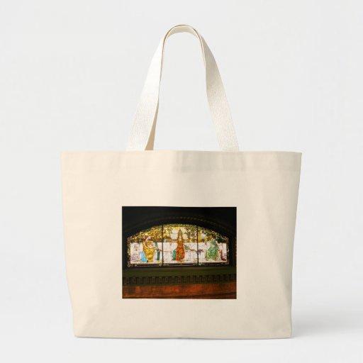 Allegorical Window - ST Louis Union Station Canvas Bag
