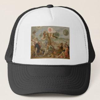 Allegorie on the battle of Gurăslău by Hans Trucker Hat