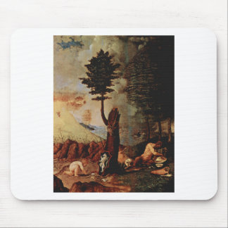 Allegory (Allegory of prudence) by Lorenzo Lotto Mouse Pad