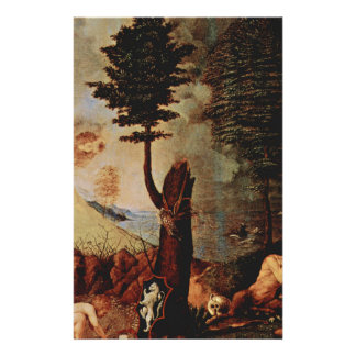 Allegory (Allegory of prudence) by Lorenzo Lotto Stationery