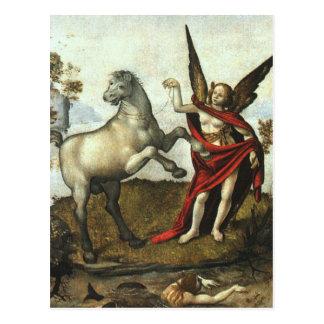 Allegory by Piero di Cosimo Postcard