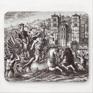 Allegory celebrating mouse pad