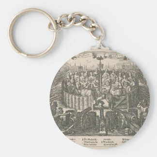 Allegory depicting the Pacification Ghent Adriaen Keychain