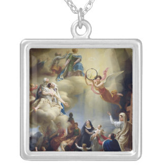 Allegory in Honour of the Birth of Henri de Silver Plated Necklace