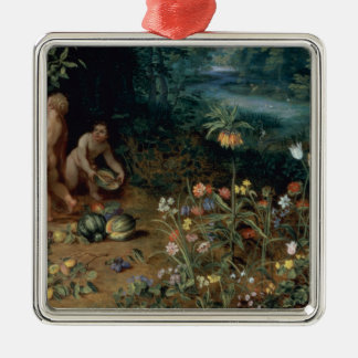 Allegory of Abundance, detail Metal Ornament