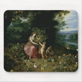 Allegory of Abundance Mouse Pad