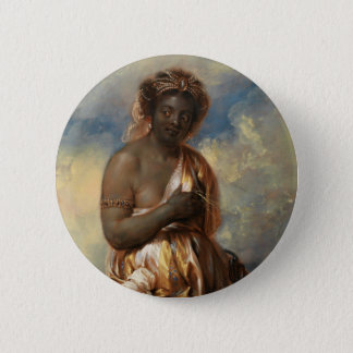 Allegory of Africa from the Continents Pinback Button