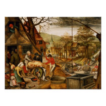 Allegory of Autumn Poster