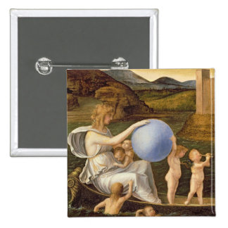 Allegory of Changing Fortune, or Melancholy (oil o Button