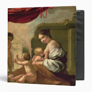 Allegory of Charity 3 Ring Binder