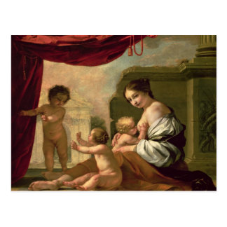 Allegory of Charity Postcard