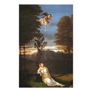 Allegory of Chastity by Lorenzo Lotto Stationery