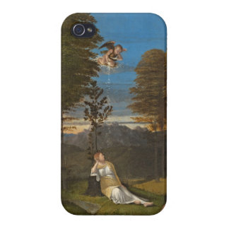 Allegory of Chastity, c. 1505 (oil on panel) Covers For iPhone 4