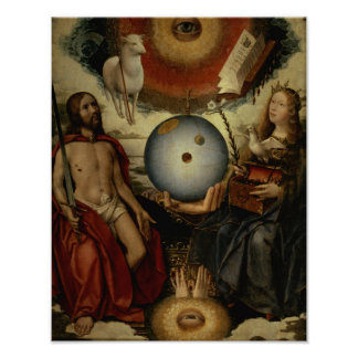 Allegory of Christianity Poster