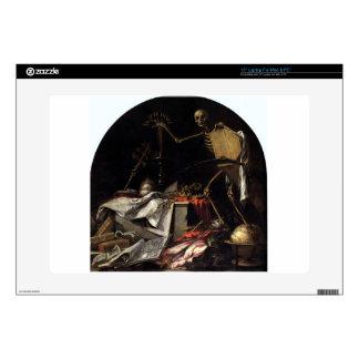 "Allegory of Death: In Ictu Oculi by Juan de Valdes Skin For 15"" Laptop"