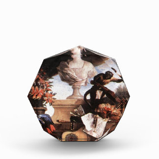 Allegory of Europe by Jean-Baptiste Oudry Acrylic Award