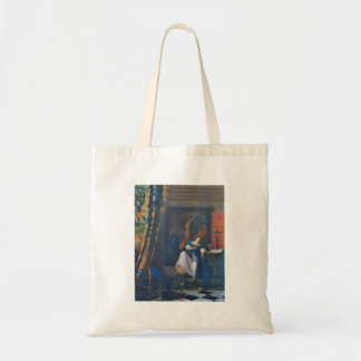 Allegory of Faith by Johannes Vermeer Tote Bags
